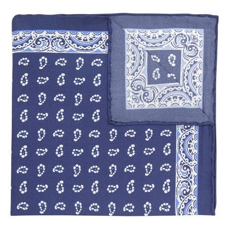 Paisley Print Pocket Square , ${color}
