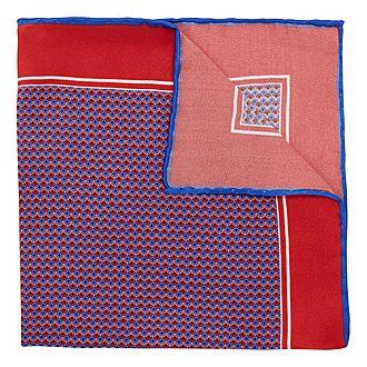 Jewel Print Pocket Square