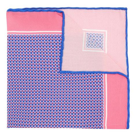 Jewel Print Pocket Square , ${color}