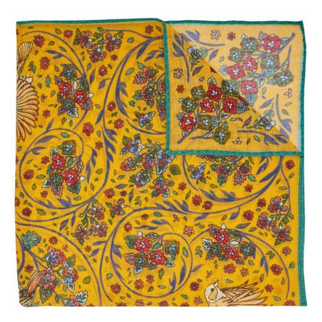 Botanical Print Pocket Square, ${color}