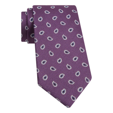 Textured Paisley Tie, ${color}