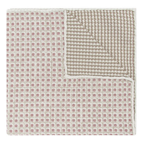 Houndstooth and Square Pocket Square, ${color}
