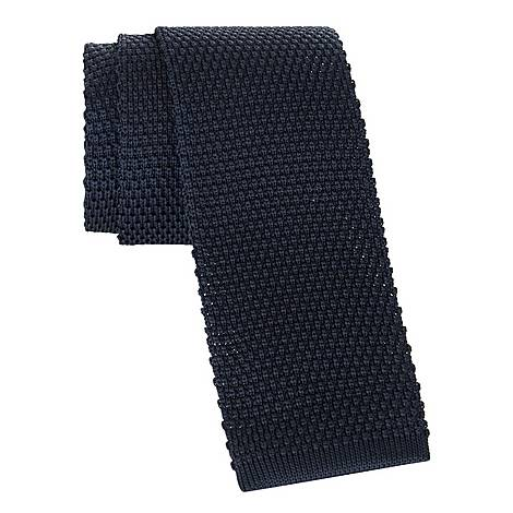 Textured Knit Tie, ${color}