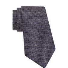 Geometric Pattern Silk Tie