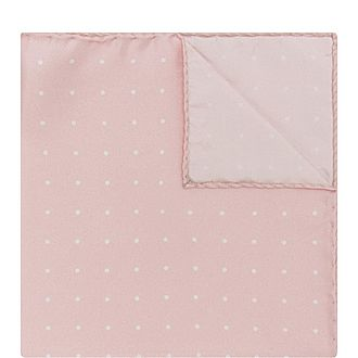 Micro-Dot Pocket Square