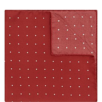 Micro Dot Pocket Square