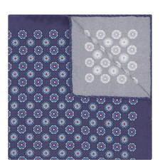 Geometric Dot Pocket Square