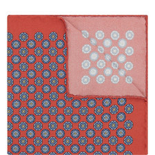 Geometric Dot Pocket Square