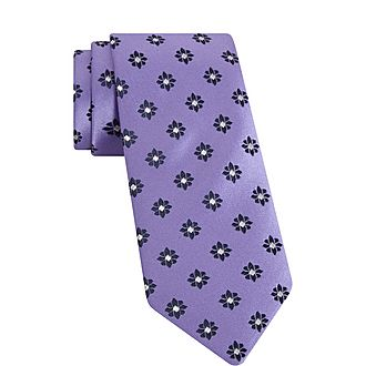 Retro Floral Tie