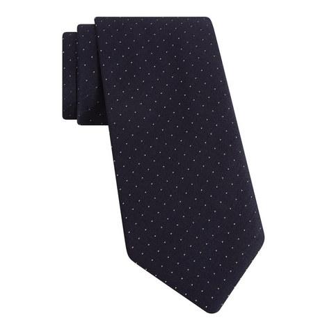 Micro Dot Silk Tie, ${color}