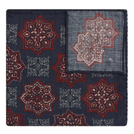 Persian Pattern Pocket Square, ${color}