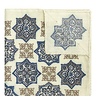 Persian Pattern Pocket Square