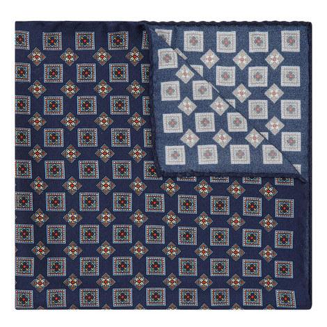 Geometric Diamond Pocket Square, ${color}