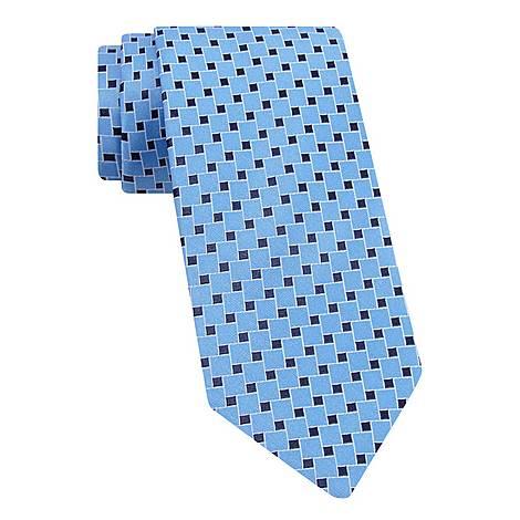 Interlocking Square Tie, ${color}