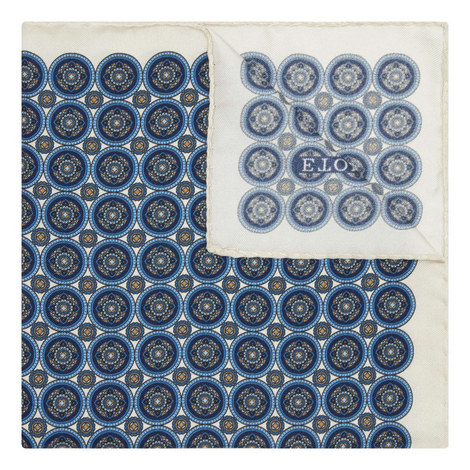 Tile Print Pocket Square, ${color}
