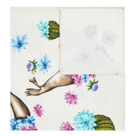 Seal Print Pocket Square, ${color}