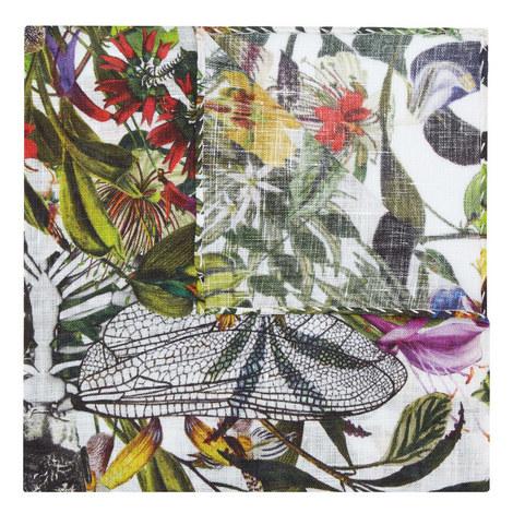 Linen Floral Pocket Square, ${color}