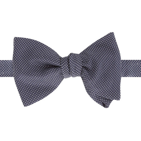 Textured Line Bow Tie, ${color}