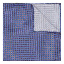 Micro Geometric Diamond Pocket Square