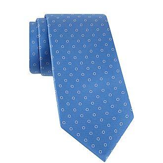 Circle Silk Tie