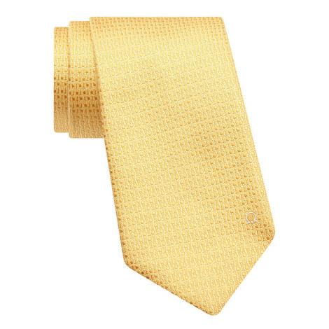Gancini Jacquard Print Tie, ${color}