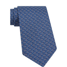 Turtle Print Tie