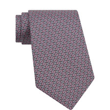 Interlocking Gancini Print Tie