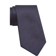 Embroidered Micro-Mosaic Tie