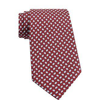 Rugby Silk Tie