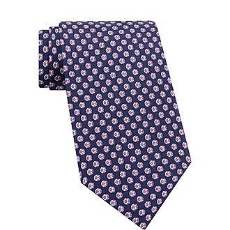 Football Silk Tie