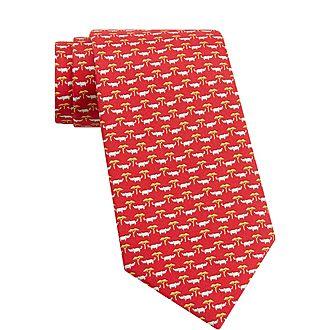 Rhino Silk Tie