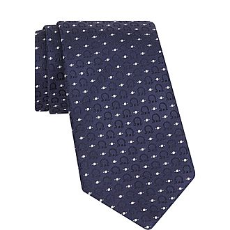 Dot and Gancini Tie