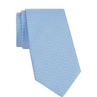Jacquard Micro Gancini Tie