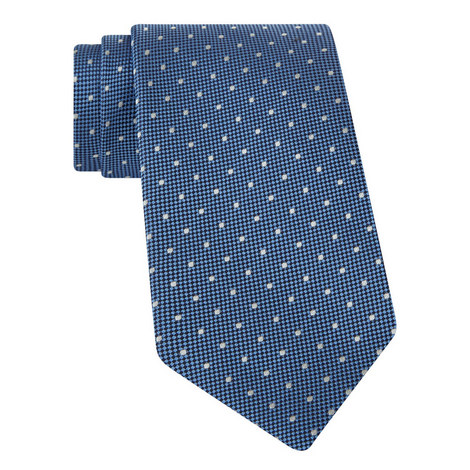 Polka Dot Textured Tie, ${color}