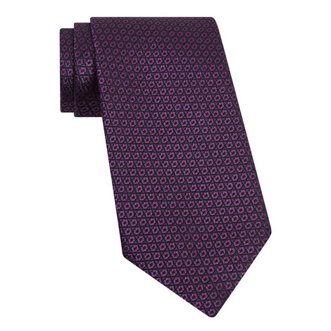 Floral Pattern Tie , ${color}