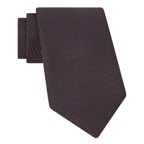 Diagonal Pattern Textured Tie, ${color}