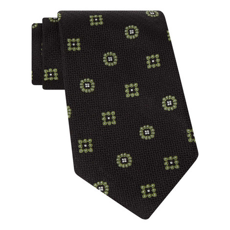 Square Textured Tie, ${color}