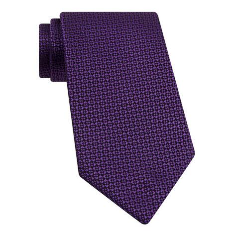 Square Geometric Silk Tie, ${color}