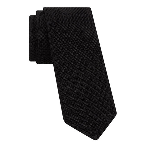 Knitted Textured Tie, ${color}