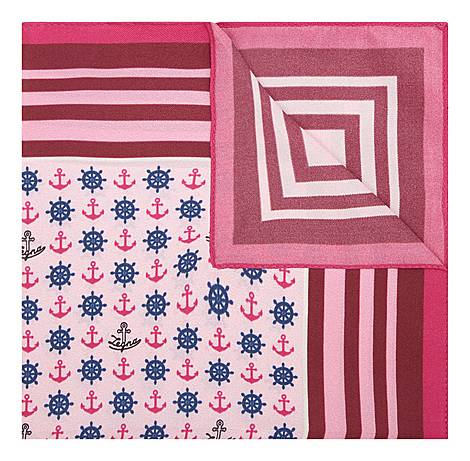 Striped and Nautical Pocket Square, ${color}