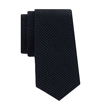 Textured Knit Tie
