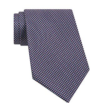 Contrast Square Tie