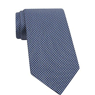Checked Pattern Tie