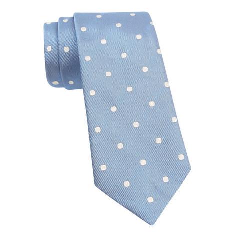 Spot Silk Tie, ${color}
