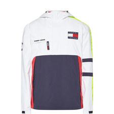 Colour-Block Logo Jacket