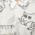 Tiger Short Sleeve Dress, ${color}