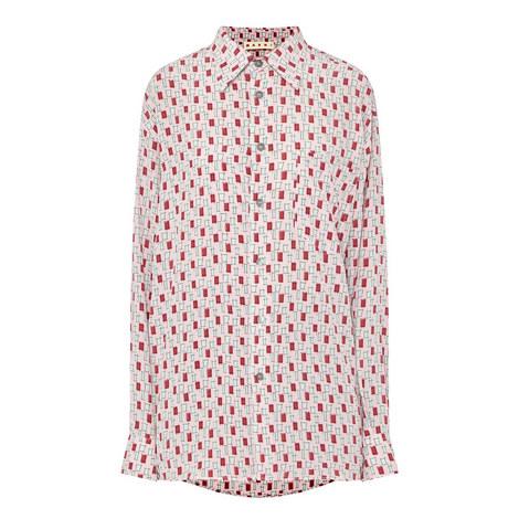 Contemporary Print Shirt, ${color}