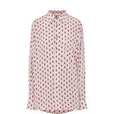 Box Print Cotton Shirt