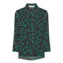 Printed Pyjama-Style Shirt, ${color}