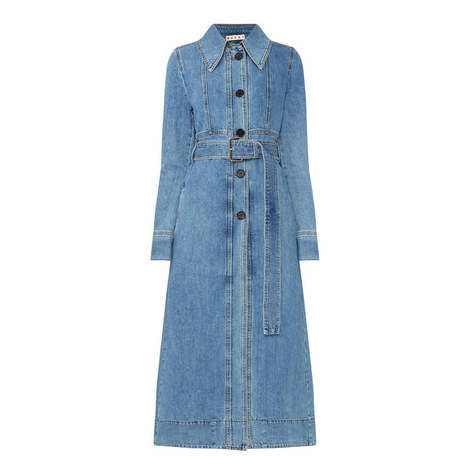 Long Denim Coat, ${color}